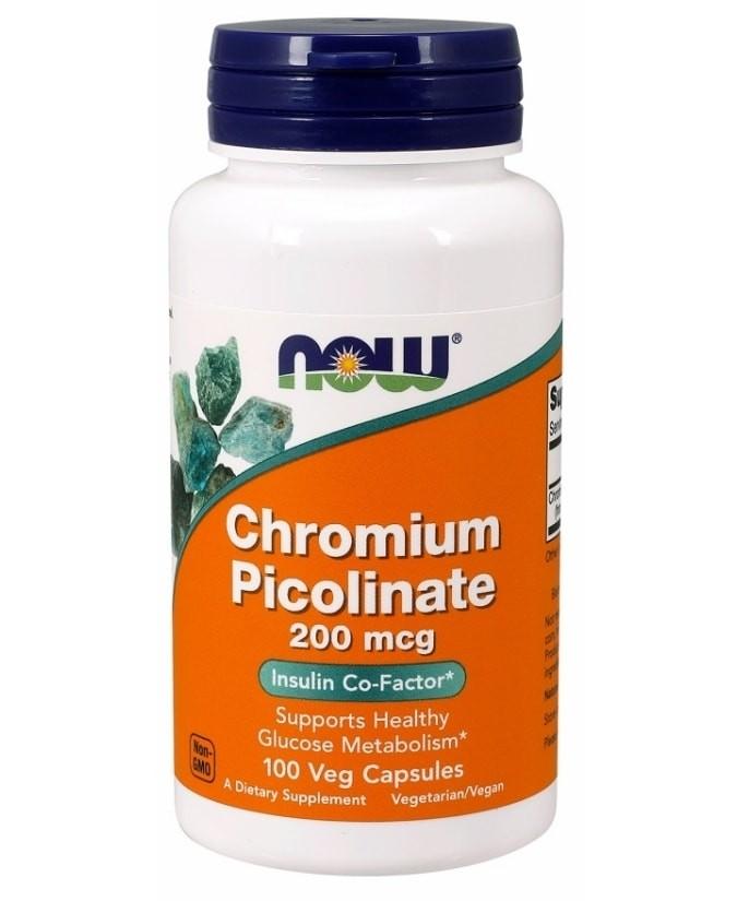 Now Chromium Picolinate 200 mcg 100 db