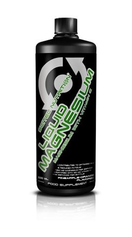 Scitec Nutrition Liquid Magnesium Magnézium C-vitaminnal - 1000 ml