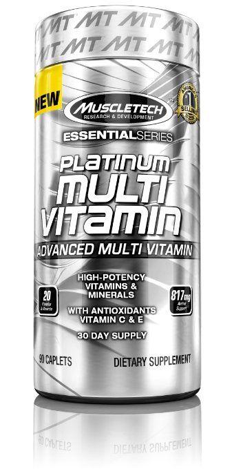 MuscleTech Platinum Multi Vitamin 90 kapszula