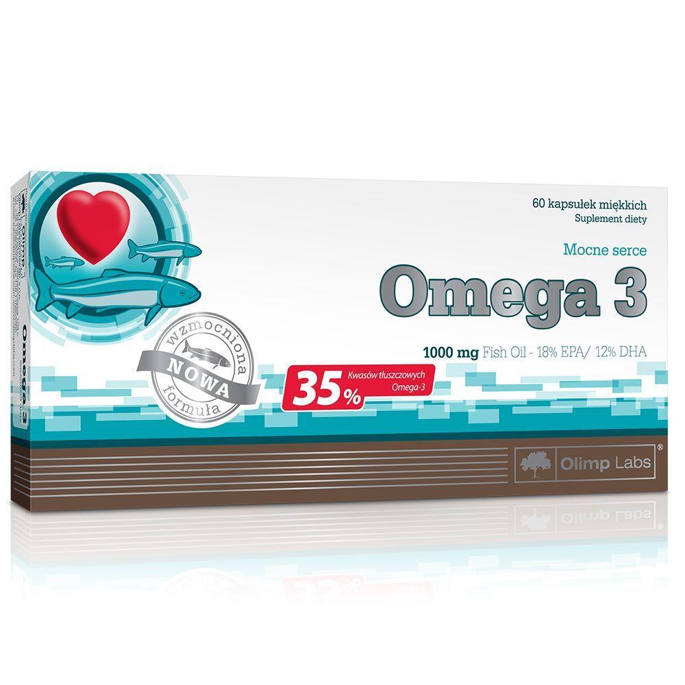 Olimp Labs Omega 3 1000 MG - 60 kapszula