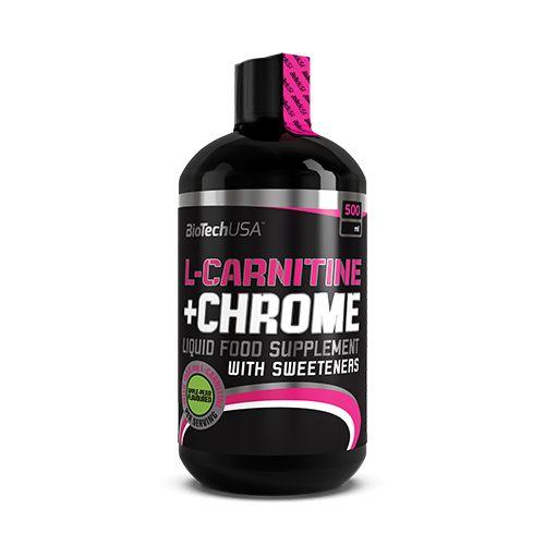 Biotech USA L-Carnitine + Chrome - 500 ml