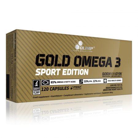 Olimp Gold Omega 3 Sport Edition 120 kapszula