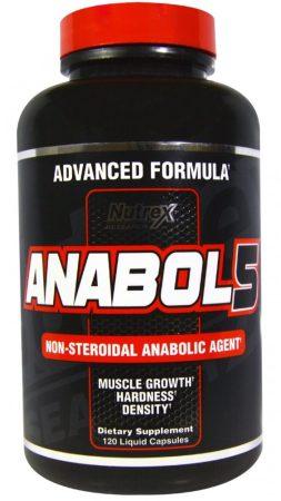 Nutrex Anabol 5  120 kapsz