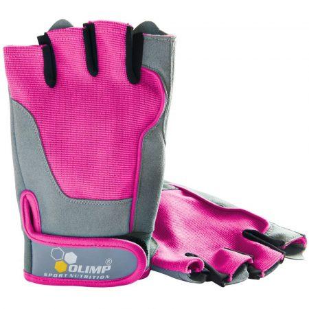 Olimp Fitness One edzőkesztyű (pink)