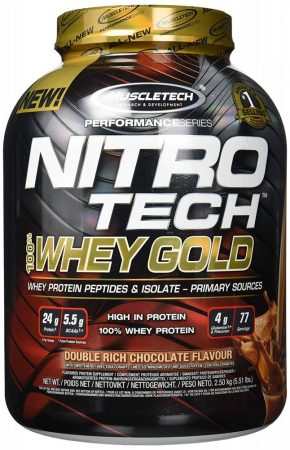 MUSCLETECH  Nitro Tech  Whey Gold 2500g