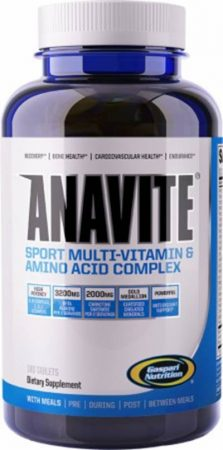GASPARI NUTRITION ANAVITE 180 TABLETS