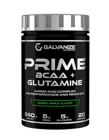 GALVANIZE Nutrition Prime BCAA+Glutamine 240g