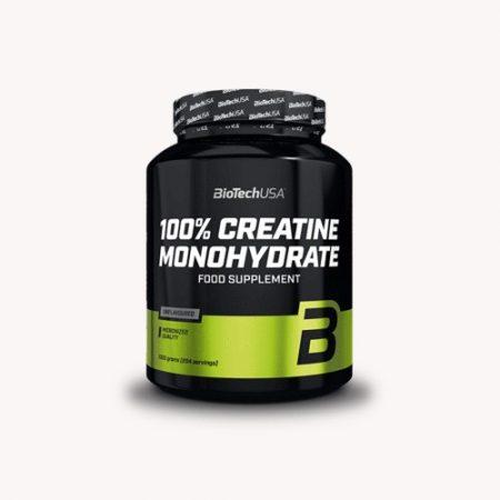 BioTechUSA 100% Creatine Monohydrate 1000g.