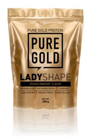 Pure Gold Lady Shape étkezés helyetesítő shake 450g