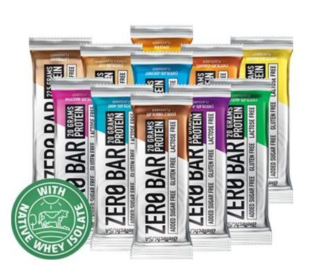 Zero Bar fehérje szelet