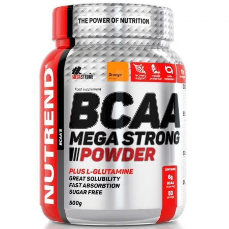 Nutrend BCAA Mega Strong Powder - 500 g