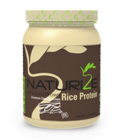 Naturize barna rizs fehérje FAHÉJAS FEKETE CSOKI ízű (907g)