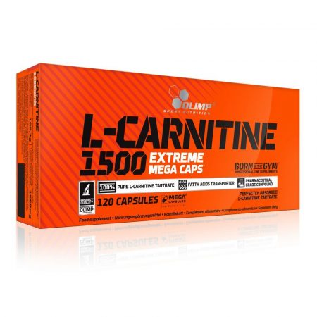 Olimp L-CARNITINE 1500 Extreme Mega Caps® zsírégető 120 kapszula
