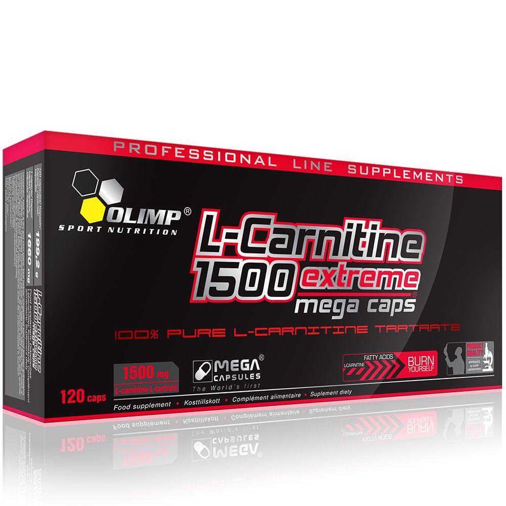 Olimp L-CARNITINE Extreme Mega Caps® zsírégető - Olimp
